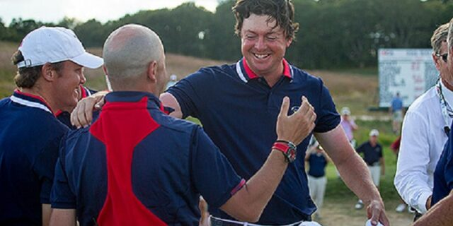 Smith Clinches Walker Cup