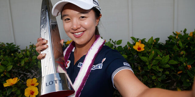 Kim Wins with Playoff Eagle